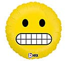 "18"" EMOTICON GRIMACE"