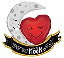 "42""PKG VINTAGE MOON AND BACK LOVE"