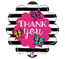 "18""PKG RADIANT BUTTERFLY THANK YOU"