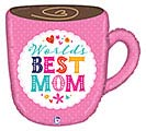 "28"" BEST MOM MUG SHAPE"