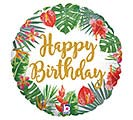 "18""PKG TROPICAL BIRTHDAY"
