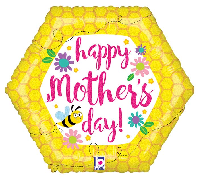 "18"" MOTHER'S DAY BEE  FLOWERS"
