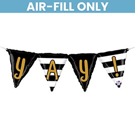 """40"""" PKG YAY BUNTING AIR FILL ONLY"""