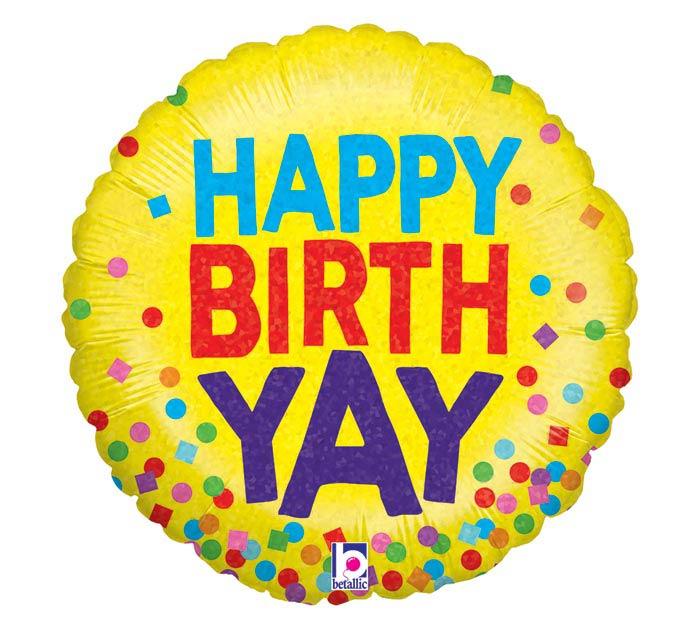 "18""PKG HAPPY BIRTH-YAY"