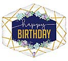 "30""PKG GEO NAVY BIRTHDAY"