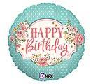 """18""""PKG VINTAGE BIRTHDAY"""