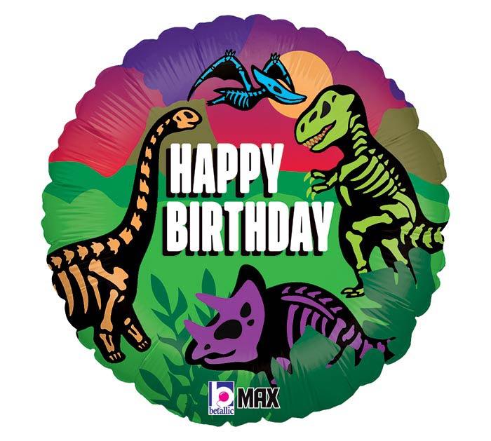 """18""""PKG JURASSIC BIRTHDAY"""