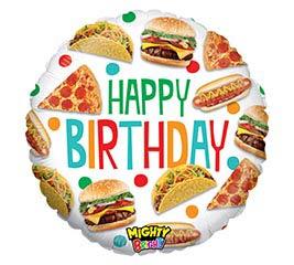 "21""PKG MIGHTY FOOD BIRTHDAY"