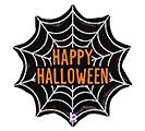 "18"" HALLOWEEN WEB GLITTER HOLOGRAPHIC"