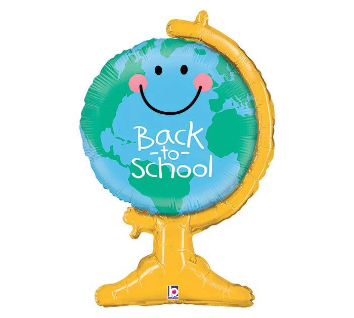 "33""PKG BACK TO SCHOOL GLOBE"