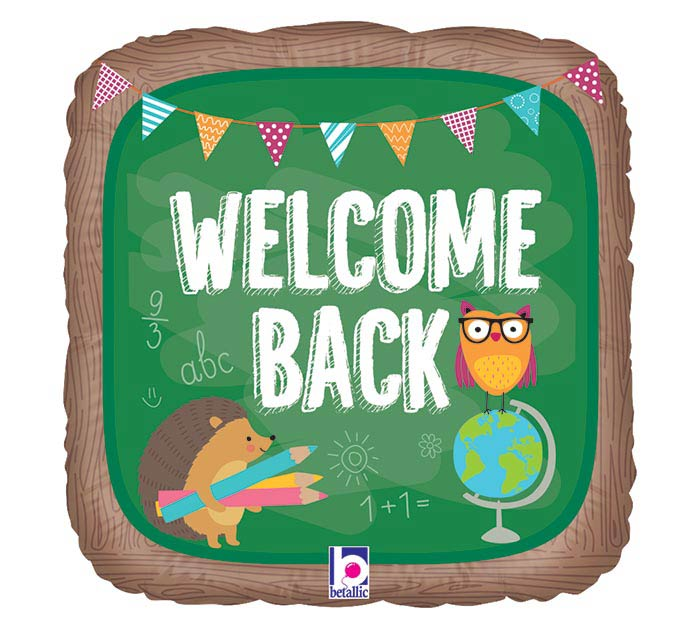 "18"" WELCOME BACK SCHOOL"