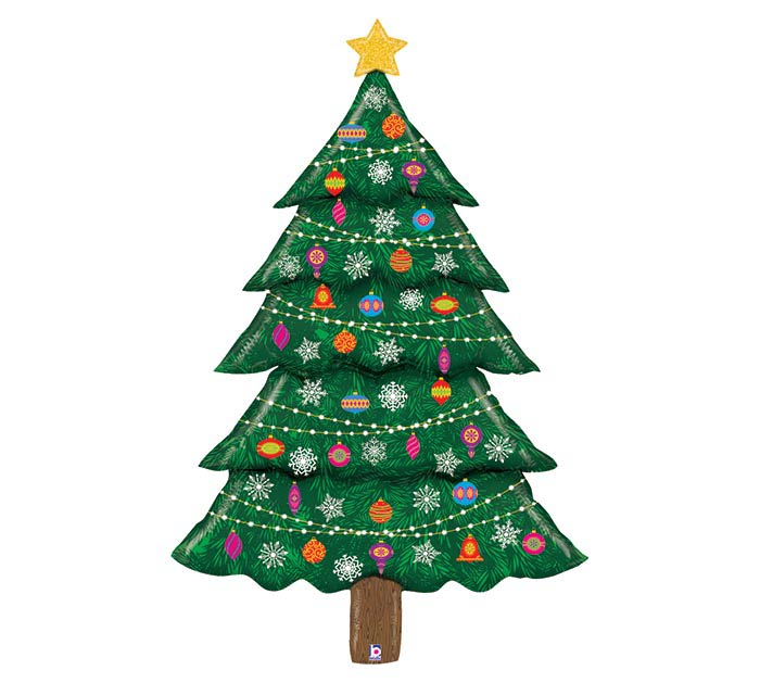 """60"""" GLITTER CHRISTMAS TREE SPC DELIVERY"""