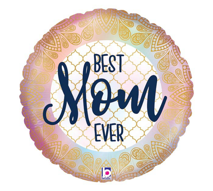 "18"" OPAL BEST MOM EVER BOHO"