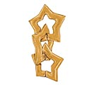 "48""PKG GLITTER GOLD STAR SHAPE 1st Alternate Image"
