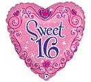 """18""""PKG SWEET 16"""