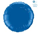 """18"""" DARK BLUE ROUND"""