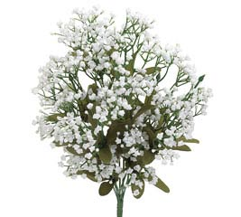 WHITE SILK GYPSOPHILA BUSH