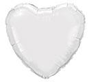 "18""SOL WHITE HEART"