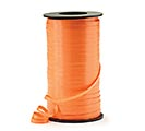 CRIMPED ORANGE CURLING RIBBON