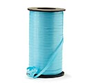 CRIMPED AQUA CURLING RIBBON