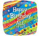 """17""""PKG HBD FROM ALL"""
