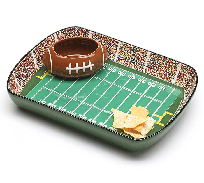 CERAMIC FOOTBALL STADIUM/BALL CHIP/DIP