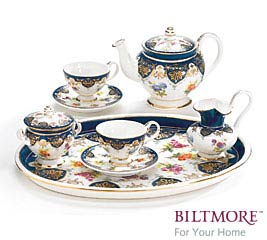 VANDERBILT MINI PORCELAIN TEA SET
