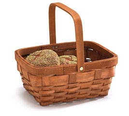 FOLDNG HANDLE BASKET