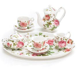 SADDLEBROOKE MINI PORCELAIN TEA SET