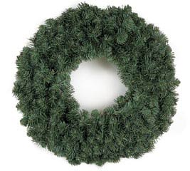 "30"" SHERWOOD SPRUCE DOUBLE WIRE WREATH"