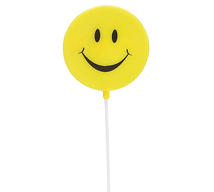 SMILEY FACE PLASTIC PICK