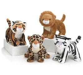 PLUSH WILD ANIMALS
