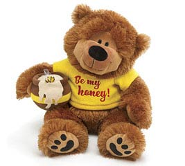 PLUSH BE MY HONEY BEAR