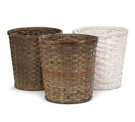 "10"" BAMBOO POT COVER SET"