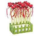 "9"" RESIN LADYBUG PICK WITH CRATE DISPLAY 1st Alternate Image"