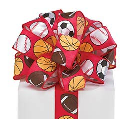 #9 ALL SPORTS WIRED SATIN RIBBON