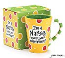 NURSE SUPERPOWER CERAMIC MUG 1st Alternate Image
