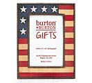 PATRIOTIC FLAG PICTURE FRAME