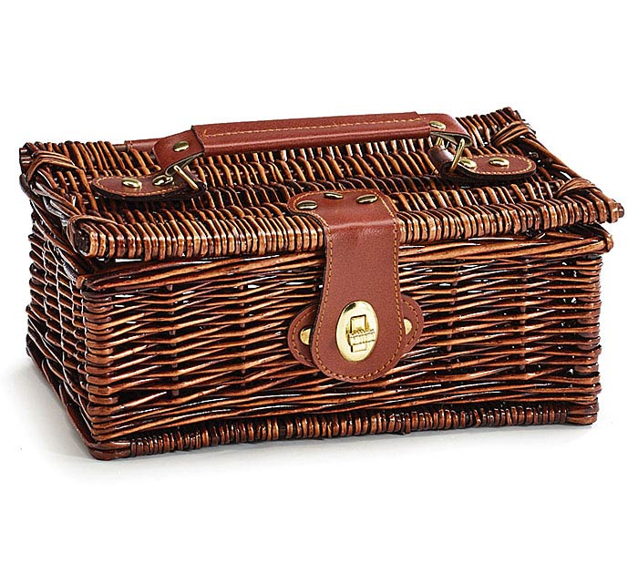 DARK WILLOW CASE BASKET