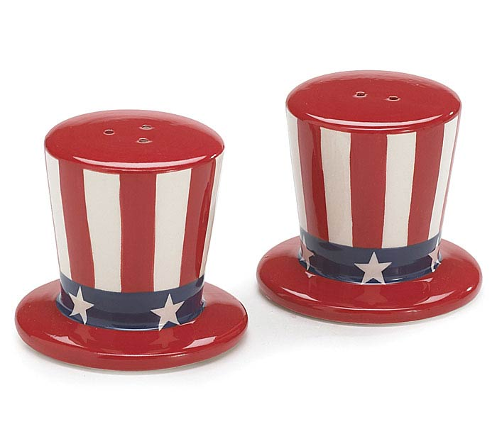 UNCLE SAM'S PATRIOTIC HAT SHAKERS