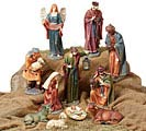 NATIVITY LG RESIN