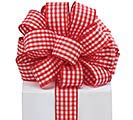 #9 RID GINGHAM WIRED RIBBON