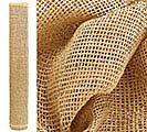 NATURAL DARK PAPER MESH ROLL