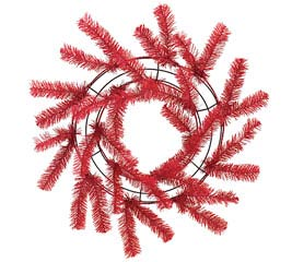 WORKING WREATH RED
