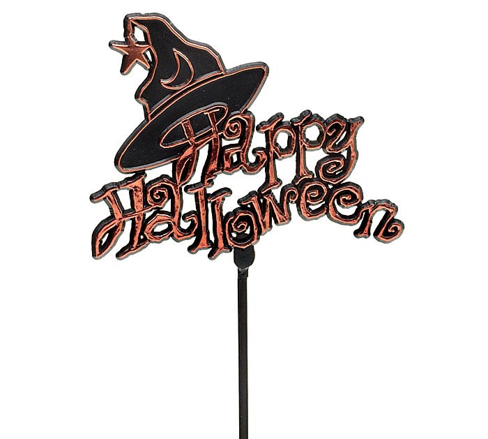 "11.75"" PLASTIC HALLOWEEN/WITCH HAT PICK"