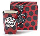 LADY OF THE HOUSE CERAMIC MUG W/ BOX