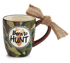 MUG BORN TO HUNT