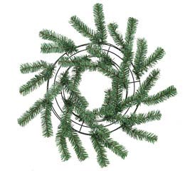 GREEN PINE WORK WREATH