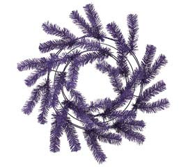 PURPLE WORK WREATH