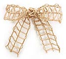 #9 NATURAL LATTICE JUTE RIBBON 1st Alternate Image